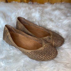Olukai Pueo Leather Perforated Ballet Flats 8